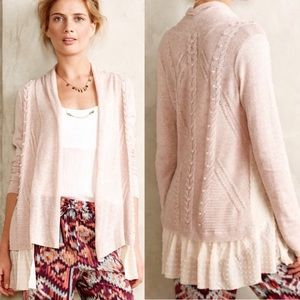 Anthropologie Knitted&Knotted Ismare Cardigan